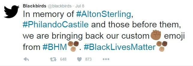 Twitter marks Black Lives Matter protests