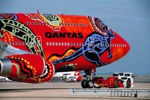 The newest 'Dreamliner' fleet of Qantas aircraft.