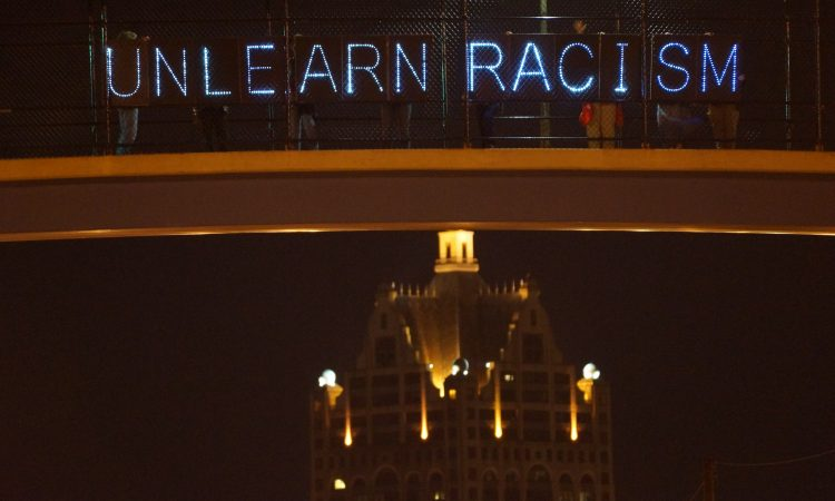 Unlearn racism